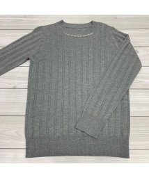 ru/【吸湿発熱】装飾付きリブ編みハイネックセーター/502634717