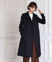 SANYO COAT/<100年コート>ダブルトレンチロングコート(三陽格子)/502635467