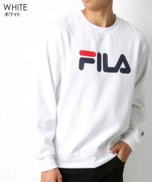 MARUKAWA/【FILA】フィラ 胸ロゴプリント 裏起毛 トレーナー/502647266