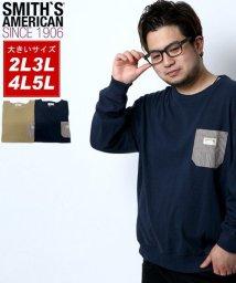 MARUKAWA/【SMITH'S AMERICAN】スミスアメリカン 大きいサイズ ポケット付き 無地 トレーナー/502647268
