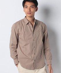 Ciaopanic/【CIAOPANIC TYPY】ブロードムジ&ガラレギュラーカラーシャツ/502649254