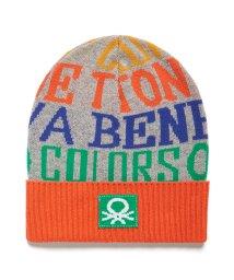 BENETTON (mens)/ドローイングニットキャップ・ニット帽JCC/502663508