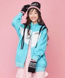 JENNI love/配色スウェットZIPブルゾン/502686314
