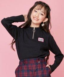 JENNI love/ハーフZIPテレコトップス/502686317