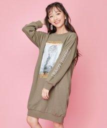 JENNI love/ネオン刺繍トレーナーワンピ/502686318