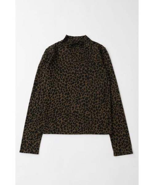 moussy(マウジー)/PATTERN HIGH NECK トップス/010CAF80-5650
