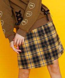 JENNI belle/チェック前ボタンスカート/502687481