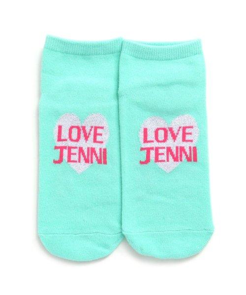 JENNI love(ジェニィラブ)/ハートラメショートソックス/02496404