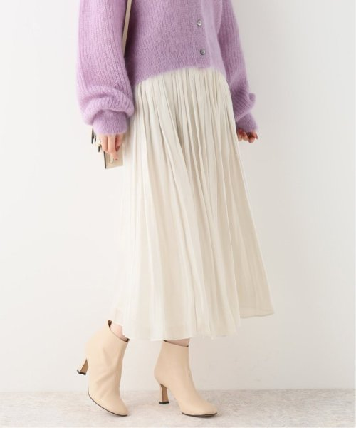 NOBLE(スピック&スパン ノーブル)/《追加3》シャイニーギャザースカート◆/19060240905140
