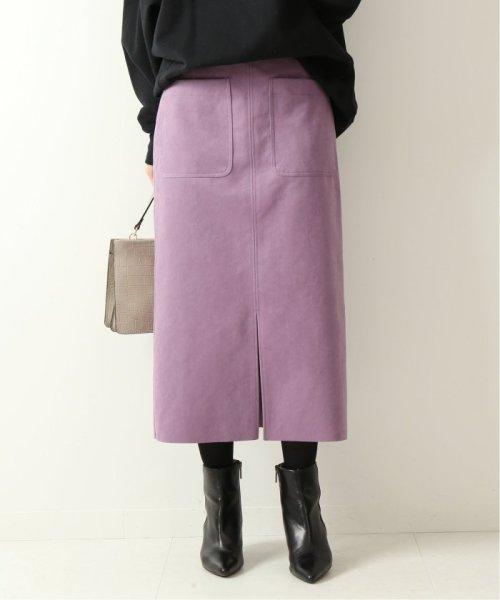 Spick & Span(スピック&スパン)/≪予約≫フェイクスウェードタイトスカート◆/19060200904130