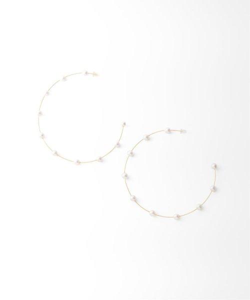NOBLE(スピック&スパン ノーブル)/【ucalypt】 pistil hoop earrings/19091250003930