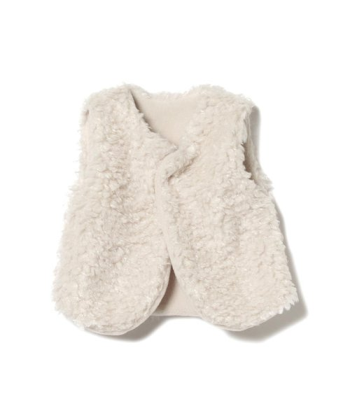 こどもビームス(こどもビームス)/mimi poupons / ボアベスト 19(80~110cm)/55060162619
