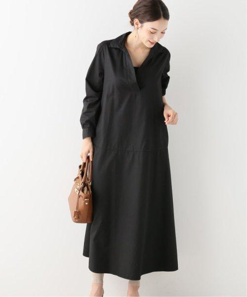 NOBLE(スピック&スパン ノーブル)/【BARBA】 スキッパーシャツドレス/19040250003230