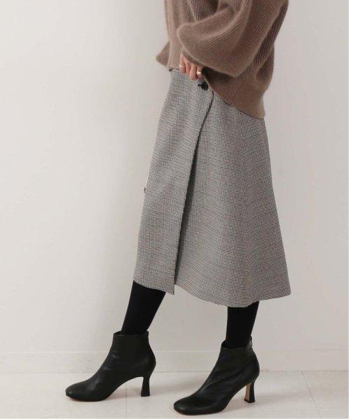 NOBLE(スピック&スパン ノーブル)/《予約》サイドボタンラップスカート◆/19060240607040