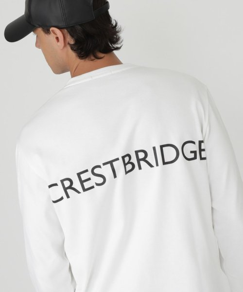 BLACK LABEL CRESTBRIDGE(BLACK LABEL CRESTBRIDGE)/【WEB限定】2サイドロゴプリントカットソー/51P80280--