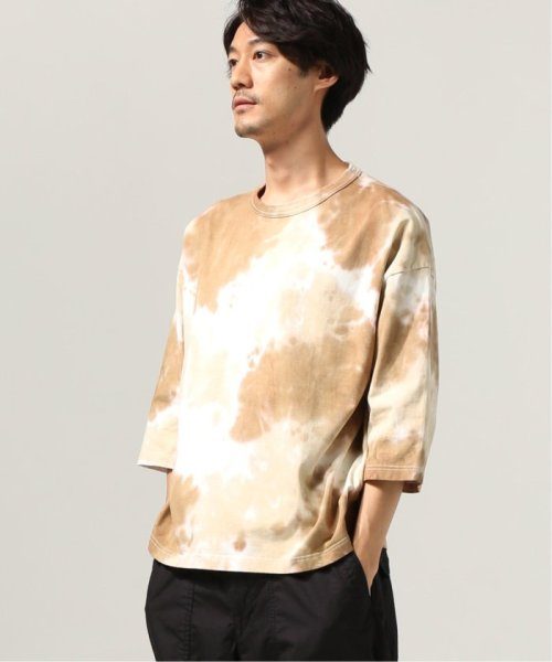 J.S Homestead(ジャーナルスタンダード ホームステッド)/COFFEE DYED WIDE SILHOUETTE-7ブソデ カットソー/19070470609030