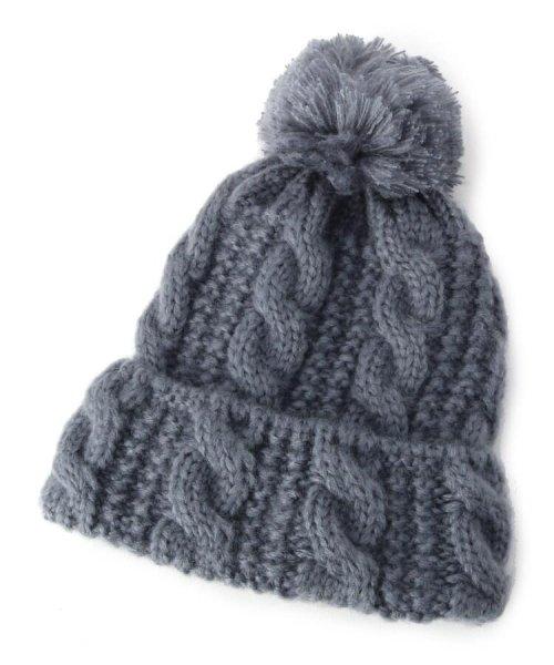 SHOO・LA・RUE(シューラルー)/ボンボンモヘアニット帽/201902C7027403