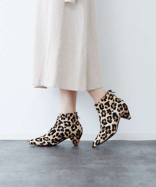 Rouge vif la cle(ルージュヴィフラクレ)/NeQuittez pas Pointed Boots/31390262000