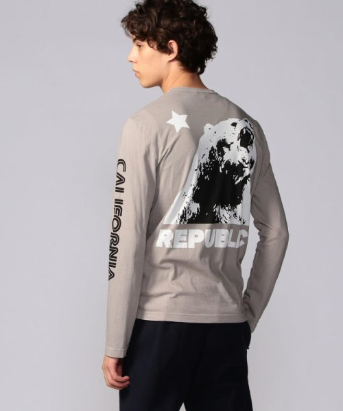 JAMES PERSE(JAMES PERSE)/グラフィックプリント 長袖Tシャツ MLJ3351NU/18039403303