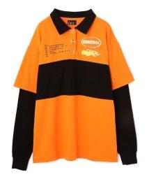 LHP/Ctr1/コントロール/ポロシャツレイヤードロングスリーブTシャツ/502690333