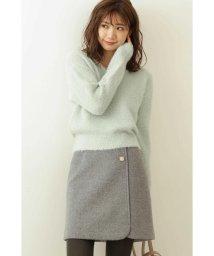 PROPORTION BODY DRESSING/◆ビジュー台形ミニスカート/502690592