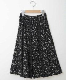 a.v.v(KID'S)/[100-130]フラワードットドッキングスカート[WEB限定サイズ]/502651462