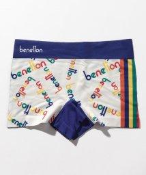 BENETTON (mens)/メンズ総柄ロゴボクサーパンツ/502668603