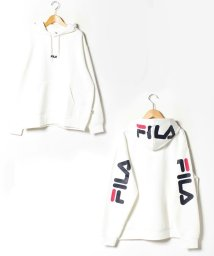 MARUKAWA/【FILA】フィラ 大きいサイズ 胸ロゴ刺繍 袖ロゴプリント フードロゴプリント パーカー/502626072