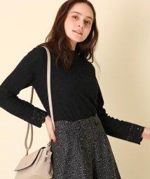 Couture Brooch/【WEB限定プライス/手洗い可】ストライプレースプルオーバー/502691071