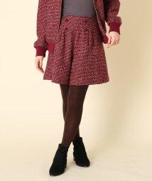 Couture Brooch/【WEB限定プライス/WEBサイズ(LL)あり/手洗い可】ツイードショートパンツ/502691074