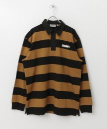 URBAN RESEARCH Sonny Label/carhartt LONG-SLEEVE EASTON RUGBY ポロシャツ/502691356
