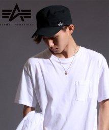 MARUKAWA/【ALPHA】アルファ ベーシック ワーク キャップ/501294433