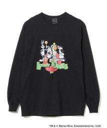 BEAMS MEN/Wiffle × BEAMS / LOONEY TUNES ロングスリーブ Tシャツ/502592480