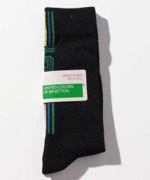 BENETTON (women)/レディースバックラインロゴロングソックス・靴下/502675830