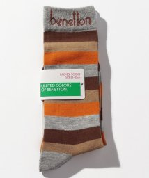 BENETTON (women)/レディースマルチボーダー柄ロングソックス・靴下/502675832