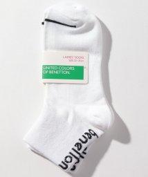 BENETTON (women)/レディースバックカラーロゴSソックス・靴下/502675833