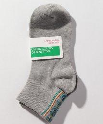 BENETTON (women)/レディースバックラインロゴSソックス・靴下/502675834