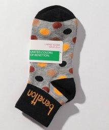 BENETTON (women)/レディースマルチドット柄Sソックス・靴下/502675835
