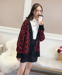 Doux Belle/トップス カーディガン 大きいサイズ レディース ニットセーター 厚手 大人 可愛い 韓国ファッション/502691141