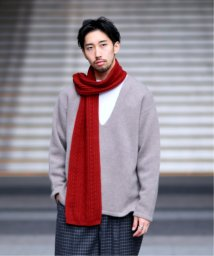 EDIFICE/INVERALLAN 別注 メリノウールケーブルマフラー/502691413