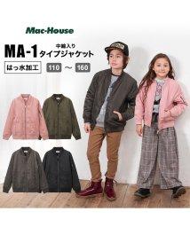 MAC HOUSE(kid's)/RUSH HOUR ラッシュアワー ボーイズ ガールズ MA-1タイプジャケット 973059MH/502691810