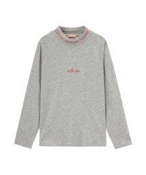 MAC HOUSE(kid's)/T-GRAPHICS ティーグラフィックス ガールズ ハイネックロングスリーブTシャツ MH/TG796G/502691812