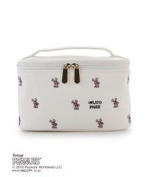 gelato pique/【PEANUTS】バニティ-ポーチ/502691944