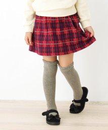 3can4on(Kids)/【90-140cm】チェック柄スカート風ショートパンツ/502692001