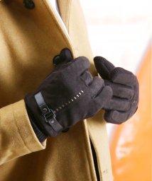 JIGGYS SHOP/フェイクスエードグローブ / 手袋 メンズ 防寒 スマホ対応 スマートフォン対応 防風/502692744
