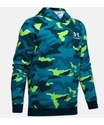 UNDER ARMOUR/アンダーアーマー/キッズ/19F UA RIVAL FLEECE PRINTED HOODY/502693453