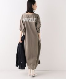 SLOBE IENA/MARSEILLE ミニ裏毛バックプリントワンピース◆/502693867