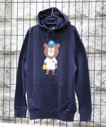 BEAMS MEN/【SPECIAL PRICE】BEAMS T / baseball bear Hoody/502694414