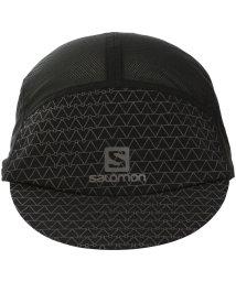 SALOMON/サロモン/キッズ/HEADWEAR AIR LOGO CAP BLACK/REF. BLAC/502015270