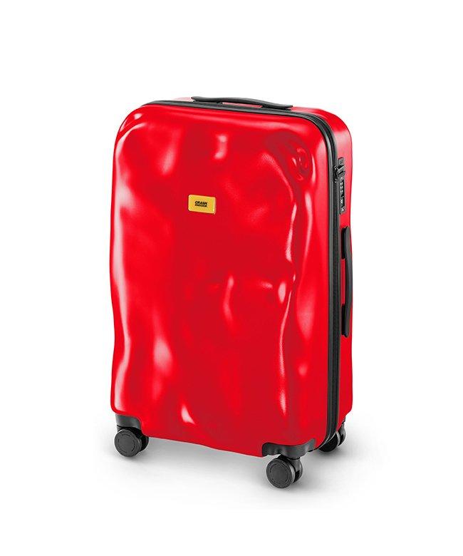 カバンのセレクション クラッシュバゲージ スーツケース Mサイズ 65L かわいい 軽量 CRASH BAGGAGE cb162 ユニセックス レッド系2 フリー 【Bag & Luggage SELECTION】